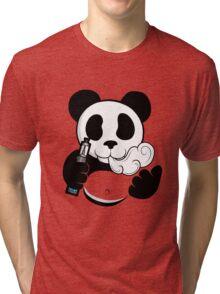 Vape Panda  Tri-blend T-Shirt