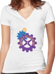 Tomorrow Is Just A Dream Away Women's Fitted V-Neck T-Shirt