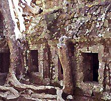 Angkor Roots by Mike Mahalo