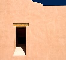 Window to New Mexico by Glennis  Siverson
