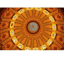 California Capitol Dome Photographic Print
