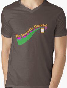 Be Brazzle Dazzle Mens V-Neck T-Shirt