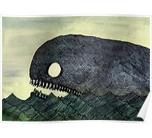 Monstrous Whale Poster