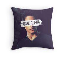 Scott McCall | True Alpha Throw Pillow