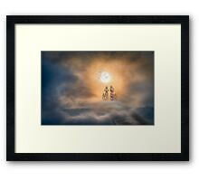Pathway to Heaven Framed Print