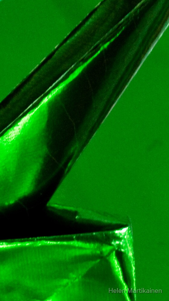 It's Green, But What Is It? Solved in 15 Guesses by Monocotylidono by Helen Martikainen