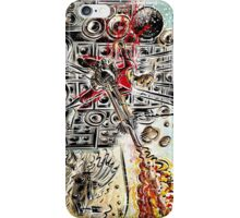 Doof Warrior, Mad Max, Art, Guitar Player, guitar, flame guitar, flame, fury road, joe badon iPhone Case/Skin