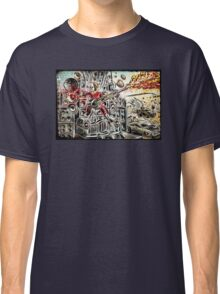 Doof Warrior, Mad Max, Art, Guitar Player, guitar, flame guitar, flame, fury road, joe badon Classic T-Shirt