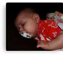 Sleep... Baby Sleep... Canvas Print