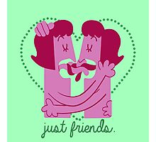 Just Friends (Girl vers.) Photographic Print
