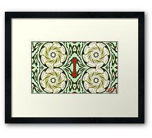Morrisesque 01 Framed Print