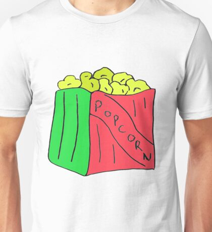 Popcorn Art Unisex T-Shirt