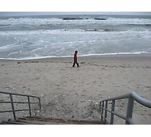 Lonely beach Photographic Print