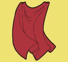 Superhero Cape One Piece - Short Sleeve