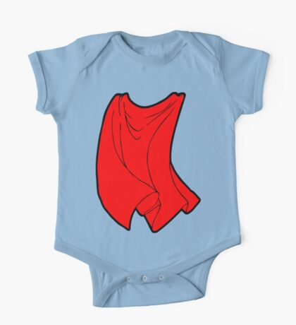 Superhero Cape One Piece - Short Sleeve