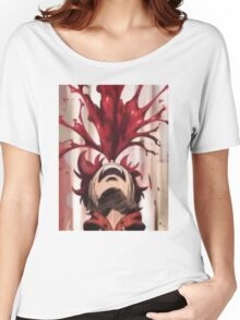 Punchline Blood Shoot Yuta Women's Relaxed Fit T-Shirt