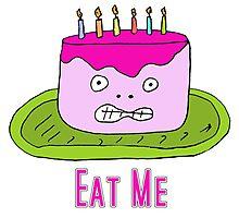Eat Cake Photographic Print