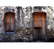 door and window Photographic Print