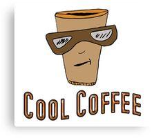 Cool Coffee Canvas Print