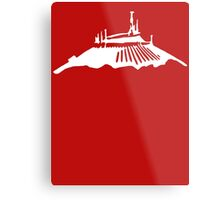 Space Mountain Icon Metal Print