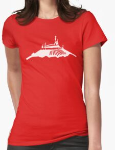 Space Mountain Icon Womens Fitted T-Shirt