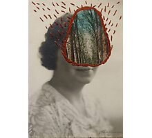 Forest Woman Photographic Print