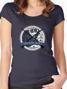 Turn: Washington's Spies - Culper Ring Women's Fitted Scoop T-Shirt