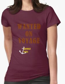 Wanted On Voyage Womens Fitted T-Shirt