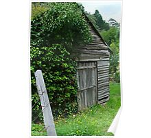 Old Shed,Main Road,Walhalla Poster