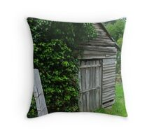 Old Shed,Main Road,Walhalla Throw Pillow