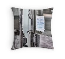 Use Other Door Throw Pillow
