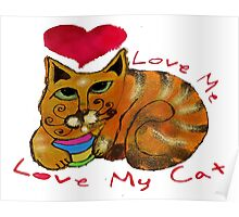 Love Me, Love My Cat Poster