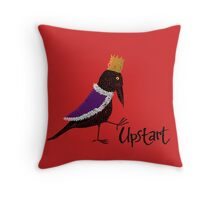 Upstart Crow Throw Pillow