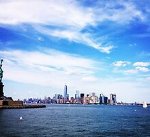 NYC Skyline, Again by omhafez