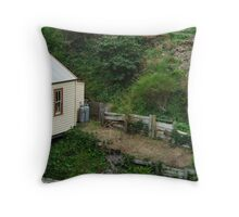 Outhouse,Walhalla Throw Pillow