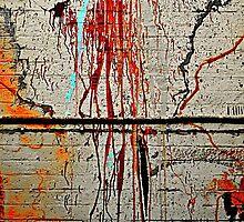 Spew wall by Ruben D. Mascaro
