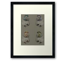 Pocket Protector - Pack Framed Print