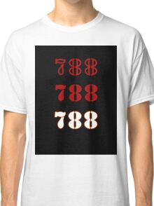 H.I.S.S. Numbers sticker alternative Classic T-Shirt