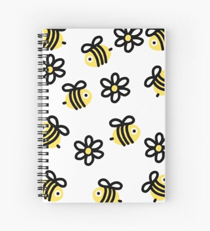 A Bumble of Bees Spiral Notebook