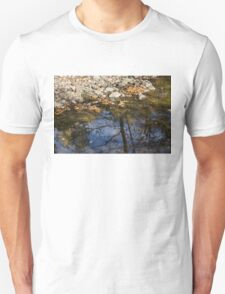 Water, Leaves, Stones and Branches T-Shirt