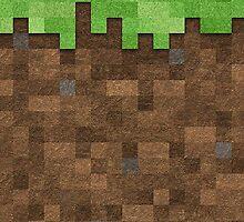 Minecraft Pillow Dirt by Eevvee