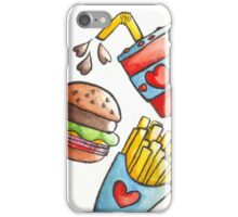 Fast Food <3 iPhone Case/Skin