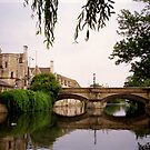 Stamford, UK, bridge over the River Welland by BronReid