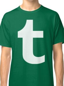 Tumblr Logo Classic T-Shirt