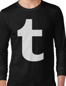 Tumblr Logo Long Sleeve T-Shirt