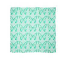 Turquoise Butterfly Scarf