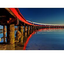 """Boardwalk Reflections"" Photographic Print"