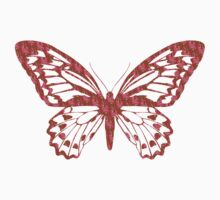 Brown and Pink Butterfly Kids Clothes