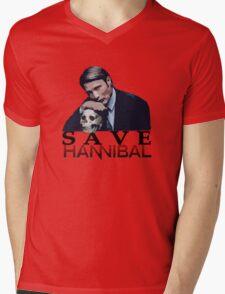 Save Hannibal Mens V-Neck T-Shirt