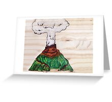 Lots of Lava Greeting Card